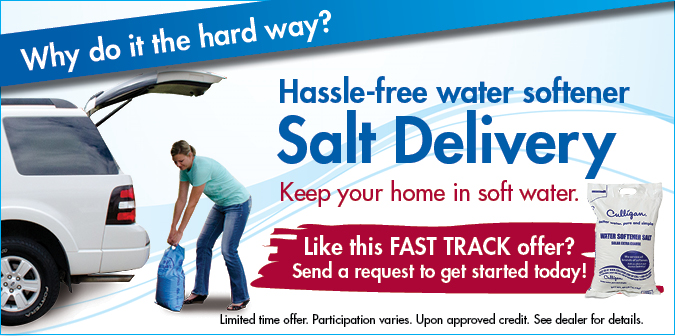 Softener Salt Delivery 160 Free Salt With Auto Delivery